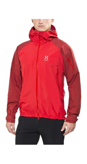 Haglöfs Roc Spirit Jacket Men real red/rubin